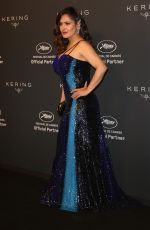 SALMA HAYEK at Kering Women In Motion Awards at 74th Cannes Film Festival 07/11/2021