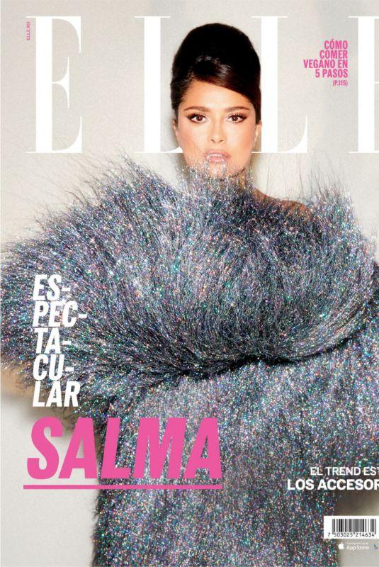 SALMA HAYEK in Elle Magazein, Mexico July 2021