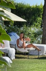 SAM FAIERS in Swimsuit on Holiday in Mallorca 07/27/2021