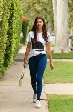 SARA SAMPAIO Arrives at Pilates Class in West Hollywood 07/13/2021