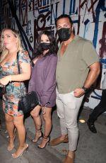 SCHEANA SHAY, STASSI SCHRODER and KRISTEN DOUTE at Vanderpump Rules cast Dine at Craig