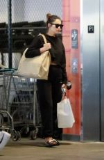 SHAY MITCHELL Shopping at Erewhon Market in Los Angeles 07/06/2021