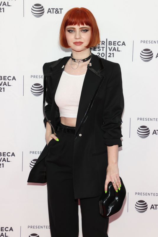 SIERRA MCCORMIC at We Need to do Something Premiere at Tribeca Film Festival 06/14/2021