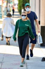SOFIA RICHIE Leaves a Hair Salon in Bevverly Hills 07/29/2021