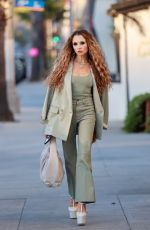 STACEY BENDET Out in Santa Monica 07/19/2021