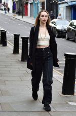 SUKI WATERHOUSE Out on Portobello Road in London 07/04/2021