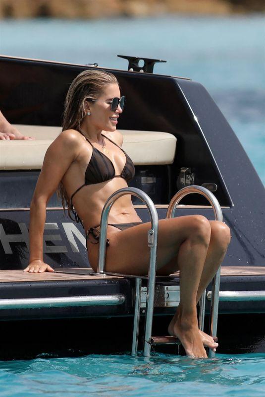 SYLVIE MEIS in Bikini at a Boat in Formentera 07/11/2021
