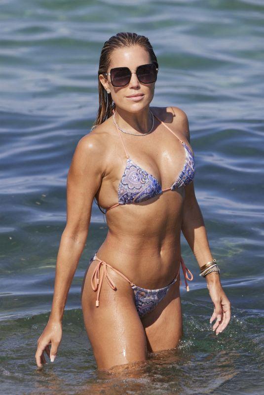 SYLVIE MEIS in Bikini on the Beach in Ramatuelle 07/19/2021