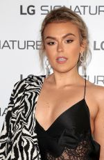TALLIA STORM at LG Signature Rollable Television Launch 07/28/2021