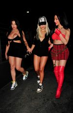 TANA MONGEAU and NIKITA DRAGUN at Hyde Sunset in West Hollywood 07/24/2021