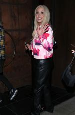 TANA MONGEAU Out for Dinner at TAO in Hollywood 07/22/2021