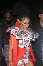 TEYANA TAYLOR at Pretty Little Thing Madhouse Event in Los Angeles 07/03/2021