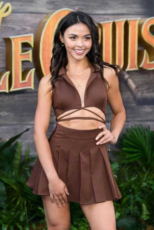 VANESSA BAUER at Jungle Cruise Special Screening in London 07/29/2021