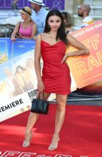 VANESSA BAUER at Off the Rails Premiere in London 07/22/2021