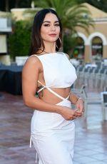 VANESSA HUDGENS at Filming Italy Festival in Santa Margherita di Pula 07/22/2021