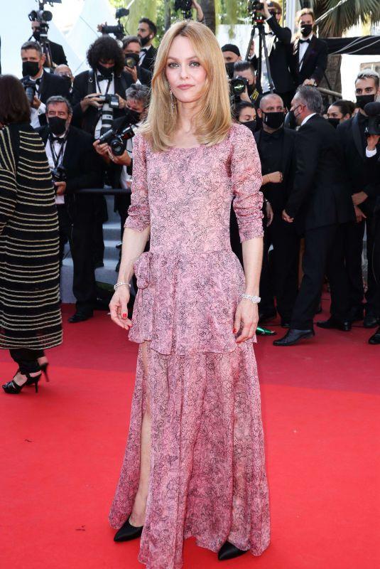 VANESSA PARADIS at De Son Vivant Screening at 74th Annual Cannes Film Festival 07/10/2021