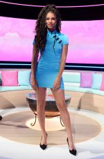 VICK HOPE at Love Island: Aftersun TV Show, Series 7, Episode 1 in London 07/04/2021