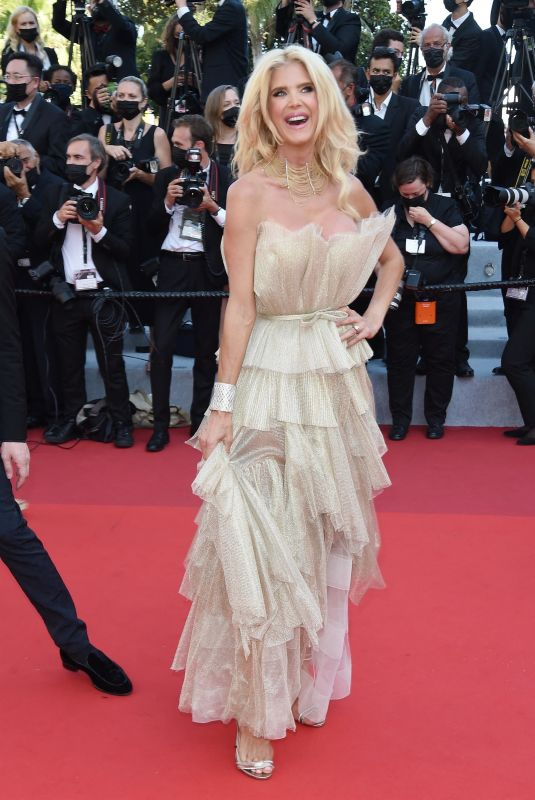 VICTORIA SILVSTEDT at De Son Vivant Screening at 74th Annual Cannes Film Festival 07/10/2021