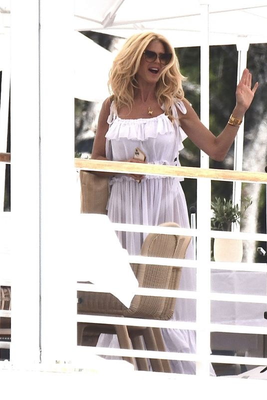 VICTORIA SILVSTEDT at Eden Roc Hotel in Cannes 07/09/2021