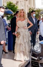 VICTORIA SILVSTEDT at Hotel Martinez Hotel at 74th Annual Cannes Film Festival 07/10/2021