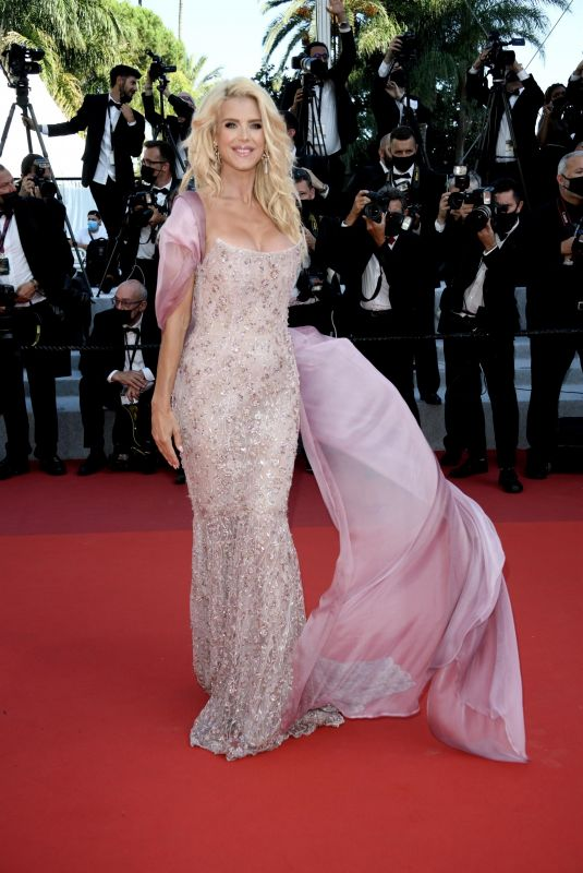 VICTORIA SILVSTEDT at Tre Piani Screening at 74th Annual Cannes Film Festival 07/11/2021