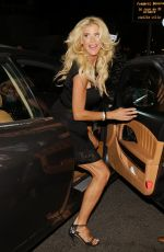 VICTORIA SILVSTEDT Night Out in Saint-Tropez 07/18/2021