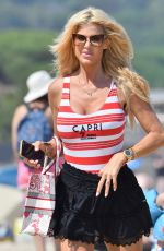 VICTORIA SILVSTEDT Out on the Beach in Ramatuelle 07/22/2021