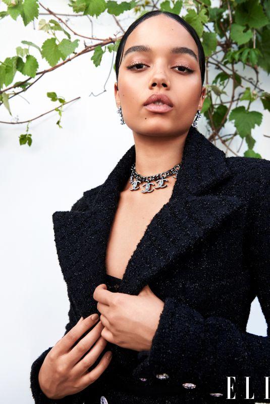 WHITNEY PEAK for Elle Magazine, August 2021