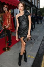 XENIA TCHOUMITCHEVA at The Ivy Asia Chelsea Launch in London 07/29/2021