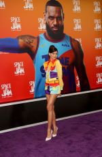 ZENDAYA COLEMAN at Space Jam: A New Legacy Premiere in Los Angeles 07/12/2021