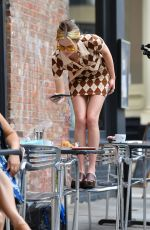 ZOEY DEUTCH on the Set of Not Ok in New York 07/30/2021