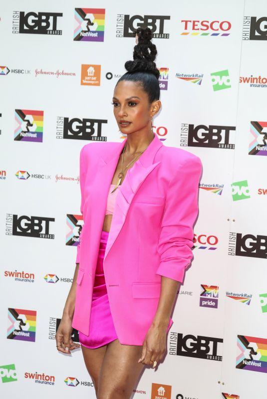 ALESHA DIXON at 2021 British LGBT Awards in London 08/27/2021
