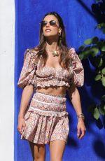 ALESSANDRA AMBROSIO at a Photoshoot in Trancoso 07/31/2021
