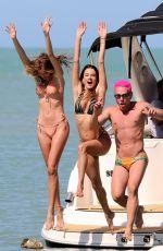ALESSANDRA AMBROSIO in Bikini at a Beach in Trancoso 08/01/2021