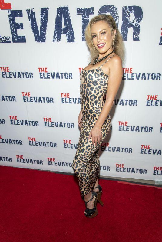 ALEX VAN ZEELANDT at The Elevator Premiere in Hollywood 08/07/2021