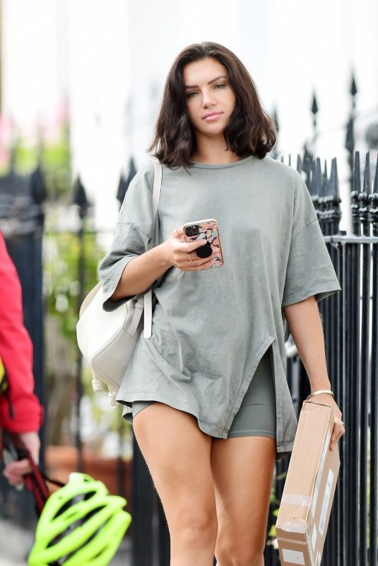 ALEXANDRA CANE Out and About in London 08/10/2021