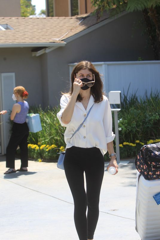 ALEXANDRA DADDARIO at Jennifer Klien's Day of Indulgence Party in Brentwood 08/15/2021