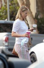 ALI LARTER Heading to Starbucks in Los Angeles 08/18/2021