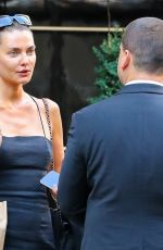 ALINA BAIKOVA Out and About in New York 08/03/2021