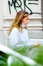 AMANDA PEET Out Shopping in New York 08/17/2021