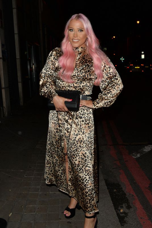 AMELIA LILY at Ballie Ballerson Bar in London 08/18/2021