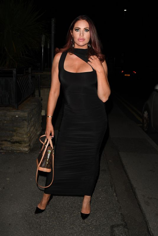 AMY CHILDS at The Only Way is Essex Press Night in Bournemouth 08/28/2021