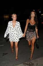 AMY DAY and GEORGIA TOWNSEND at STK in London 08/13/2021