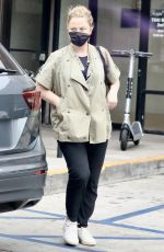 AMY POEHLER Out and About in West Hollywood 08/20/2021
