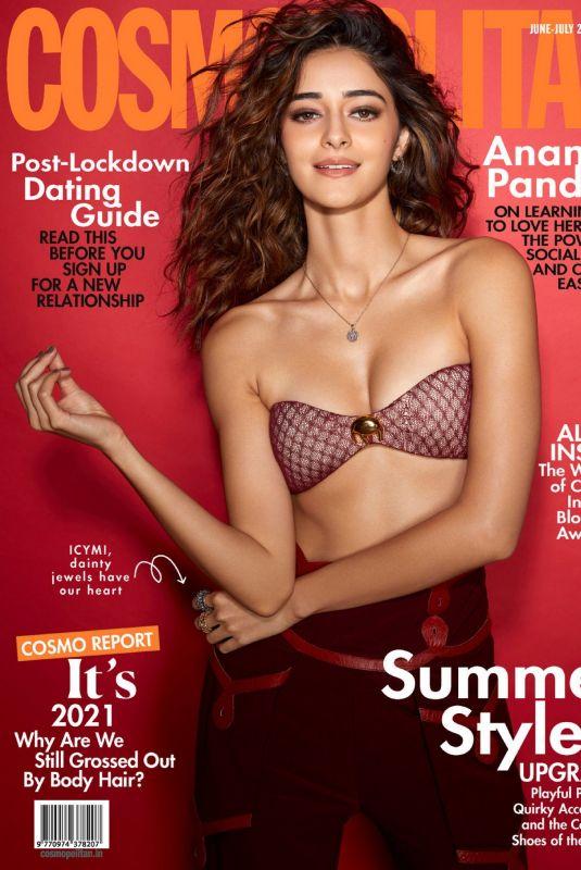 ANANYA PANDAY in Cosmopolitan Magazine, India June/July 2021