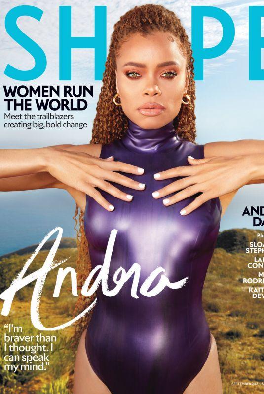 ANDRA DAY in Shape Magazine, September 2021