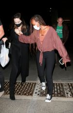 ANGELINA JOLIE Leaves Ziggy Marley Concert at Hollywood Bowl 08/02/2021