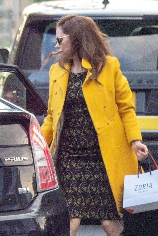 ANNA FRIEL Out in London 08/04/2021