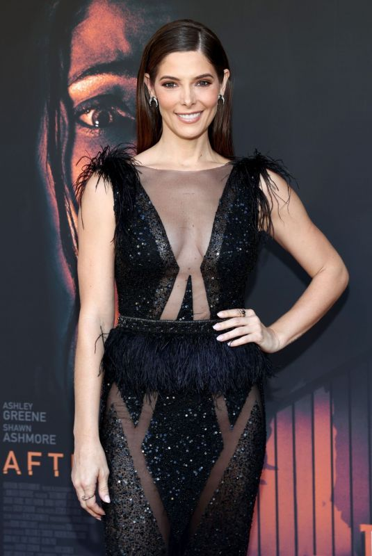 ASHLEY GREENE at Aftermath Premiere in Los Angeles 08/03/2021