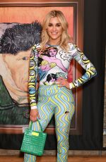 ASHLEY ROBERTS at Van Gogh Immersive Experience Private View in London 08/03/2021